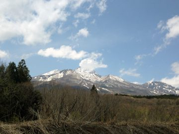 雄大な妙高山