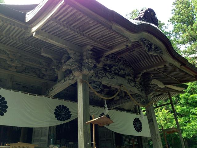 戸隠神社(宝光社)の見事な彫刻