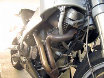 これがハーレーのエンジンね