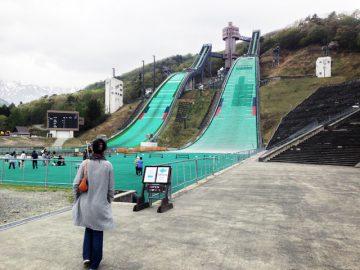 白馬スキージャンプ場)でっかい施設だな〜 by gishico