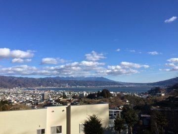 長野県の真ん中「諏訪湖」を一望