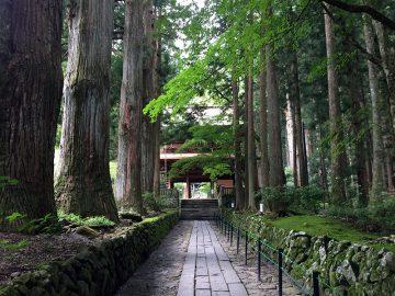駒ケ根の光前寺
