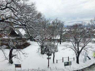 真冬の宇達神社
