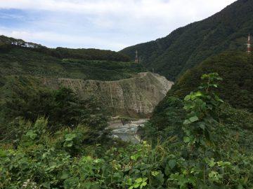 小谷の大規模な工事
