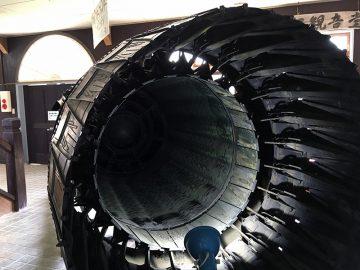 F104「スターファイター」のエンジン;噴射口