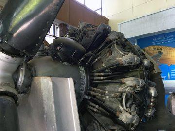 プロペラ機のレシプロエンジン(でっかい)