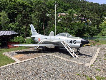 F-86Dセイバーがお出迎え