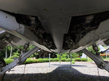F104ジェット戦闘機「スターファイター」のギア格納まわり